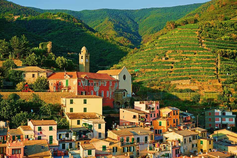 Panorama di Liguria